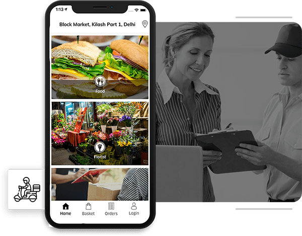 create delivery service app like postmates