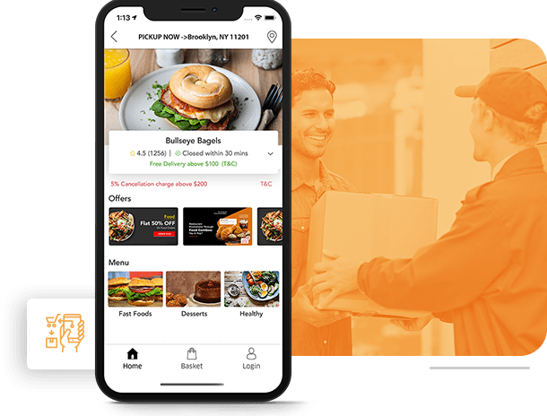 online food ordering system and delivery solution