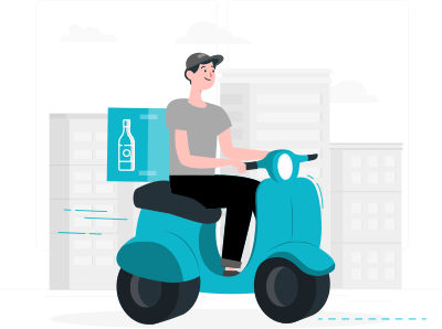 uber for x beer delivery solution