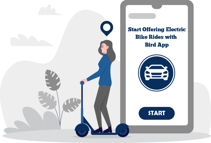 birdapp clone on-demand escooter booking app