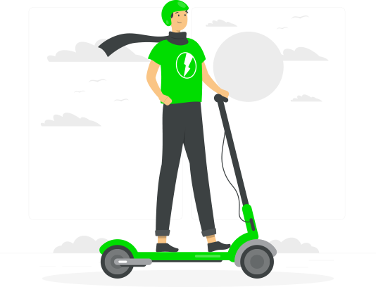 electric scooter app development