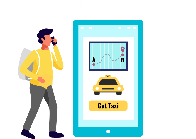 on demand taxi booking mobile application