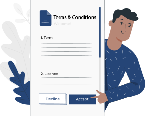 terms and condition setup features of uber for moving service app